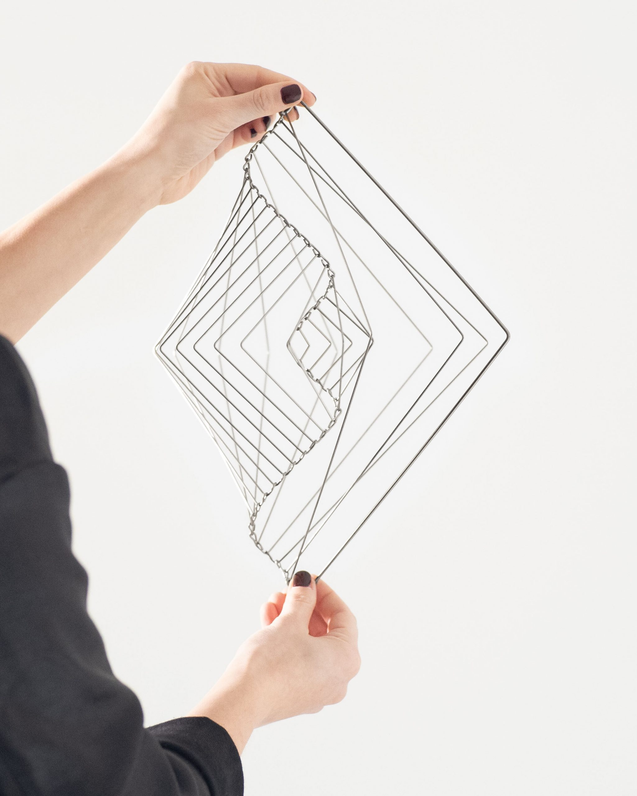 Square Wave was originally created as an artistic sculpture long before it was considered to be a relaxing