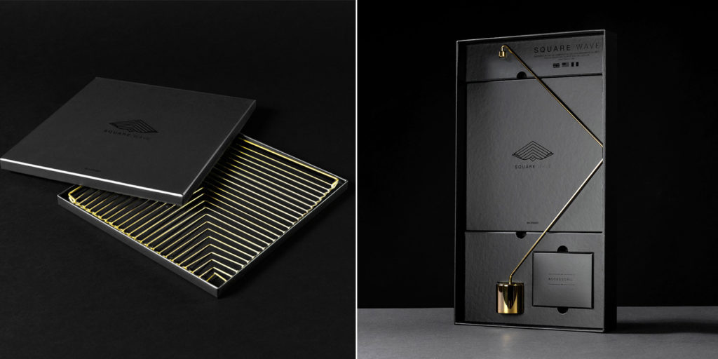 Square Wave Lunar Gold and the excusive, 24K Gold edition