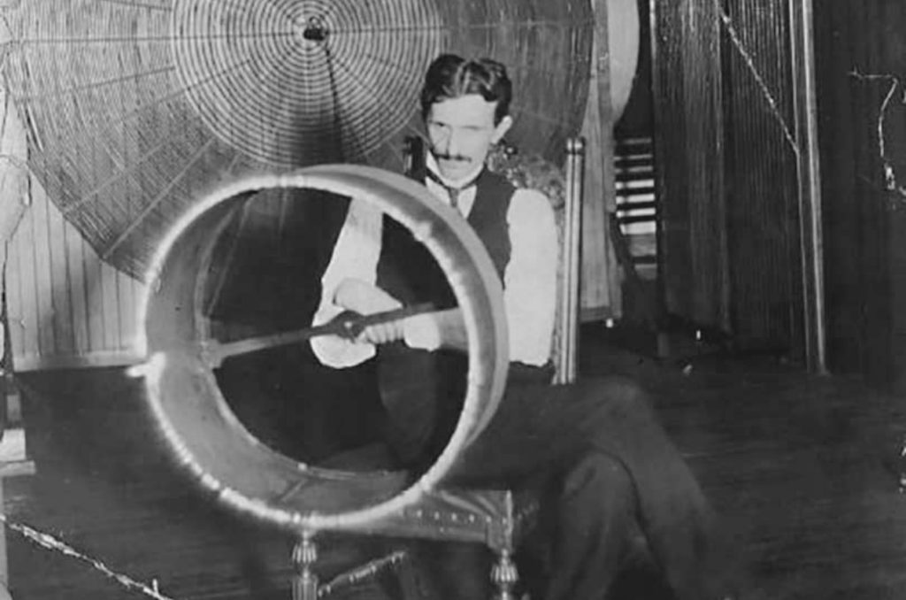 Nikola Tesla kinetic experiment