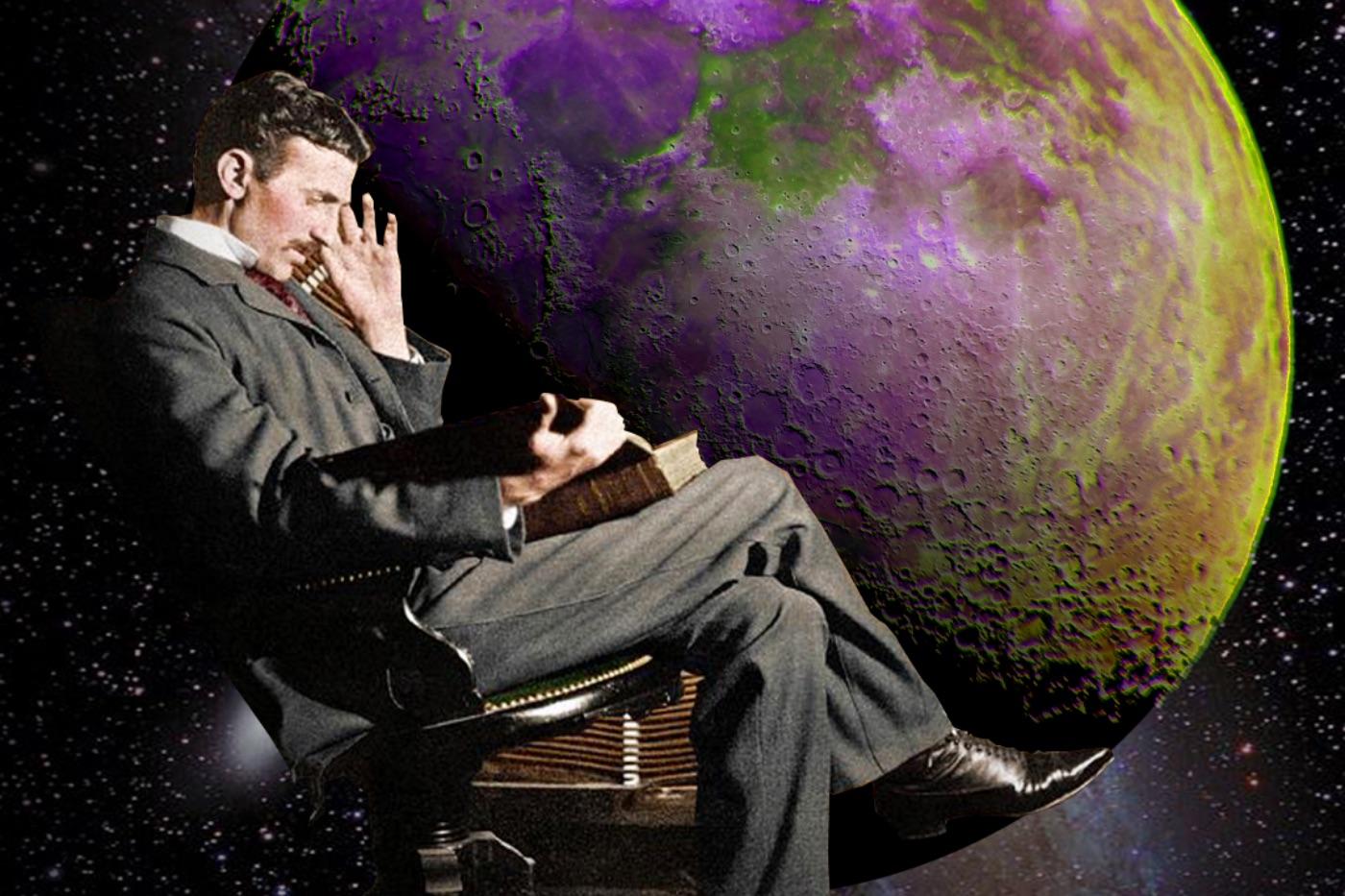 Nikola Tesla's kinetic experiments