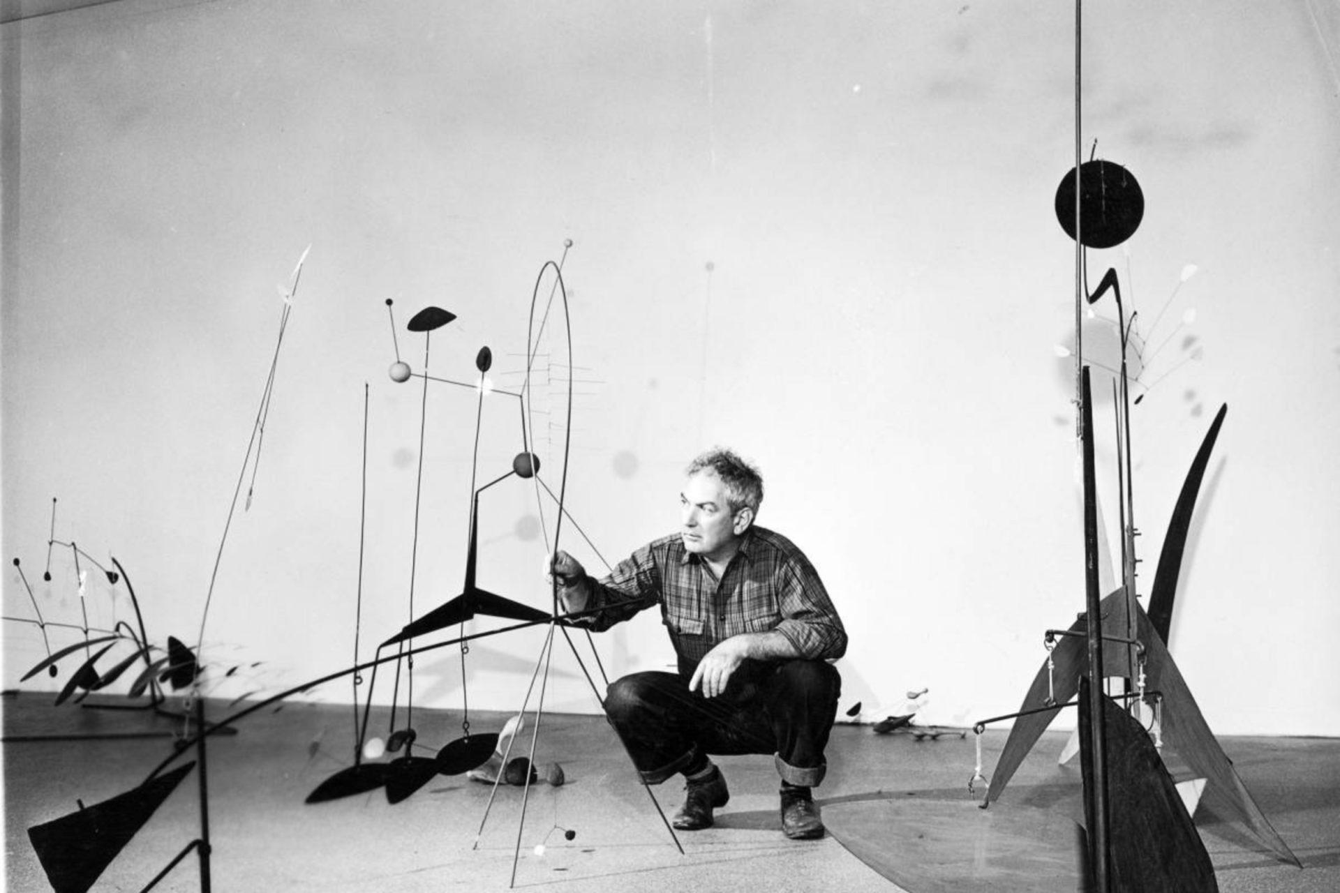 A PIONEER IN KINETIC ART - ALEXANDER CALDER